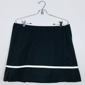 Adidas Climacool Ruffled Pleated Skort Skirt Sz L